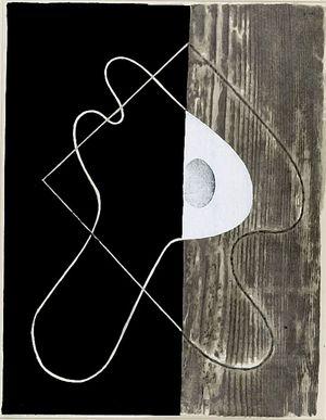 Onchi Koshiro: Past (posthumous edition), Shôwa period, between 1955-1978 - Harvard Art Museum