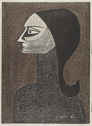 Asai Kiyoshi: Steady Gaze, Shôwa period, dated 1960 - Harvard Art Museum