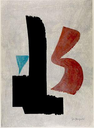 Yamaguchi Gen: Deep Feeling, Shôwa period, dated 1959 - Harvard Art Museum