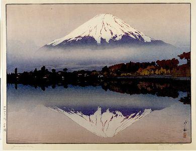 吉田博: Yamanaka Lake (Yamanaka-ko), Shôwa period, dated 1929 - ハーバード大学