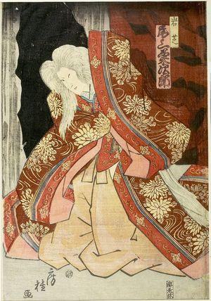 Utagawa Fusatane: ACTOR, Late Edo period, circa 1853 - Harvard Art Museum