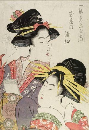Kitagawa Utamaro: HEADS OF 2 WOMEN - Harvard Art Museum