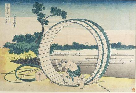葛飾北斎: Fujimi Field in Owari Province (Bishû Fujimi-ga-hara), from the series Thirty-Six Views of Mount Fuji (Fugaku sanjûrokkei), Late Edo period, circa 1829-1833 - ハーバード大学