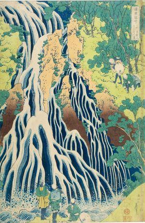 Katsushika Hokusai: FAMOUS WATERFALLS FROM THE VARIUS PROVINCES.