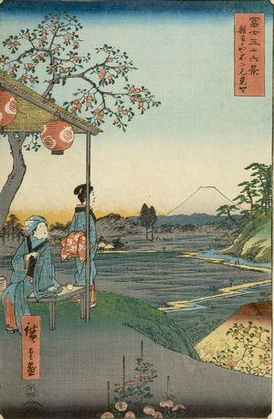 Utagawa Hiroshige: THIRTY-SIX VIEWS OF FUJI,