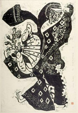 松原直子: Chinese Theatre, Shôwa period, dated 1959 - ハーバード大学