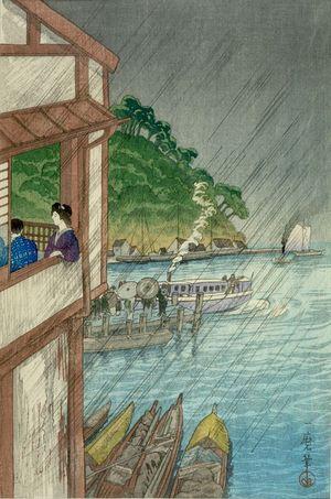 Oda Kazuma: View of Miho-no-seki, Izumo (Izumo Miho-no-seki) - Harvard Art Museum