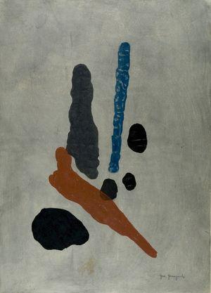 Yamaguchi Gen: Work No. 0, Shôwa period, dated 1960 - Harvard Art Museum