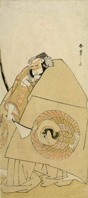 Katsukawa Shunsho: Actor Onoe Matsusuke AS ASAHINA - Harvard Art Museum