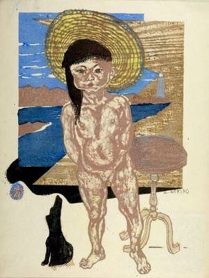 関野準一郎: Child of the Sea, Shôwa period, dated 1940 - ハーバード大学