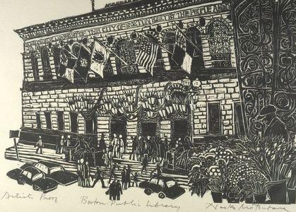 Matsubara Naoko: Boston Public Library, Shôwa period, dated 1969 - Harvard Art Museum