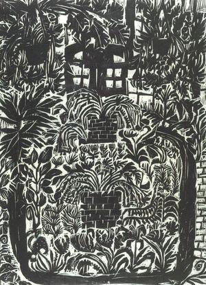 松原直子: Conservatory I, Shôwa period, dated 1962 - ハーバード大学