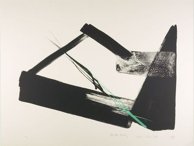 Shinoda Tôkô: After Rain A, Shôwa period, circa 1970s - ハーバード大学