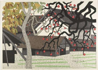 Asai Kiyoshi: Kaki no aizu (20), Shôwa period, dated 1976 - Harvard Art Museum