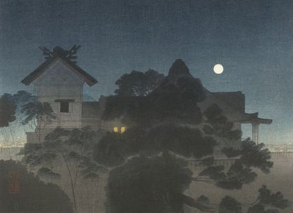 Yatsunami Settai: Shrine in Moonlight - ハーバード大学