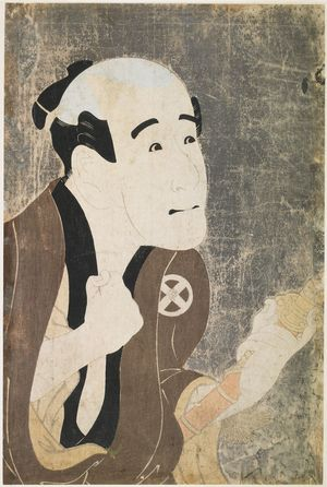 Toshusai Sharaku: Actor Otani Tokuji as the Servant Sodesuke from the Play