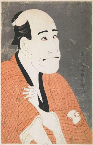 東洲斎写楽: Actor Arashi Ryuzô as the Money Lender Ishibe Kinkichi from the Play