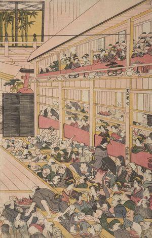 Utagawa Toyonobu: Theater - ハーバード大学