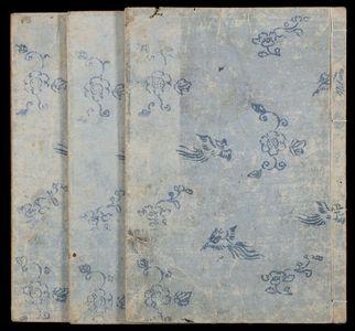 北尾重政: Sketches of Birds and Flowers (Hanatori sharei zu) in 3 volumes - ハーバード大学