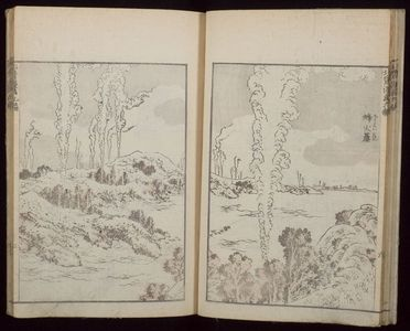 葛飾北斎: Random Sketches by Hokusai (Hokusai manga) Vol. 9, Late Edo period, dated 1819 (Bunsei 2) - ハーバード大学