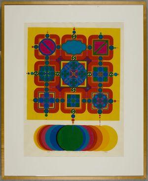 Kitaoka Fumio: Constellation 73-5, Shôwa period, - Harvard Art Museum
