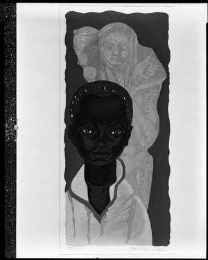 関野準一郎: Sculpture of a Boy, Shôwa period, - ハーバード大学