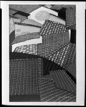 関野準一郎: Roofs of Florence, Shôwa period, 1959 - ハーバード大学