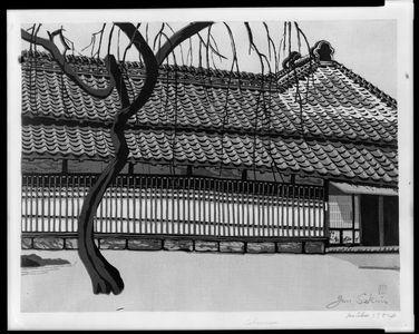 関野準一郎: Calmness, Shôwa period, dated 1954 - ハーバード大学