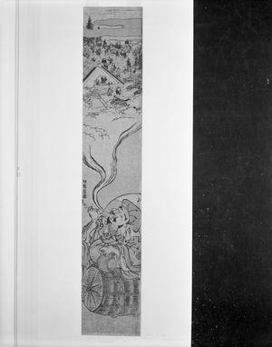 Isoda Koryusai: Daikoku Conjuring Rats from His Pipe Smoke, Edo period, circa mid to late 18th century - Harvard Art Museum