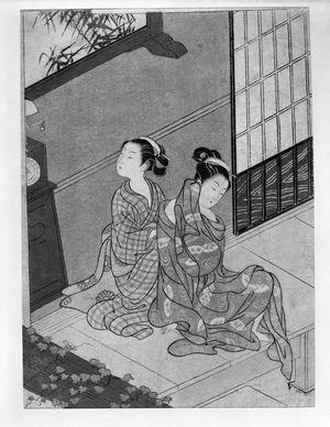 Parlor Views Suzuki Harunobu