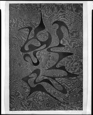 吉田遠志: Floating, Shôwa period, dated 1957 - ハーバード大学