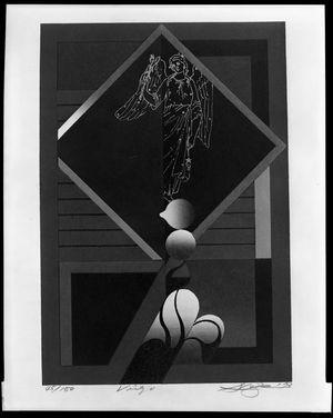 黒崎彰: Virgo, from the Zodiac Series, Shôwa period, circa 1973 - ハーバード大学