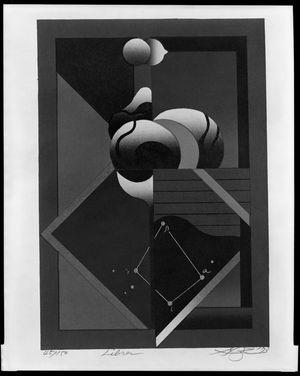 Kurosaki Akira: Libra, from the Zodiac Series, Shôwa period, circa 1973 - Harvard Art Museum