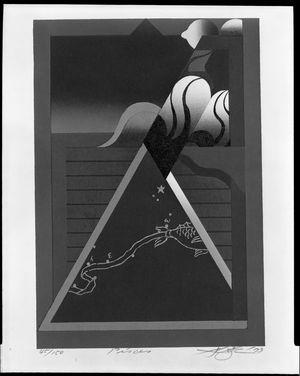 黒崎彰: Pisces, from the Zodiac Series, Shôwa period, circa 1973 - ハーバード大学