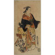 奥村利信: Courtesan and Kamuro, Edo period, circa 1730 - ハーバード大学