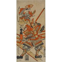 Torii Kiyotada I: USHIWAKA AND BENKEI ON THE GOJO BRIDGE, Edo period, - Harvard Art Museum