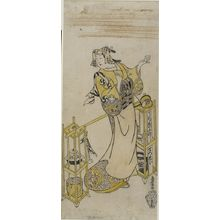 鳥居清忠: Tea Vendor, Edo period, early 18th century - ハーバード大学