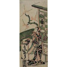 鳥居清信: Actor ARASHI KICHIYA, Edo period, - ハーバード大学