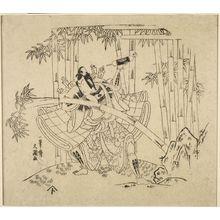 Ippitsusai Buncho: Actor Nakamura TOMIJIRO AS WATONAI - Harvard Art Museum