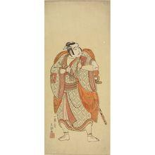 Ippitsusai Buncho: Actor Ichikawa Yaozô AS A SAMURAI - Harvard Art Museum