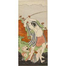 Ippitsusai Buncho: Actor Ichikawa Komazô - Harvard Art Museum