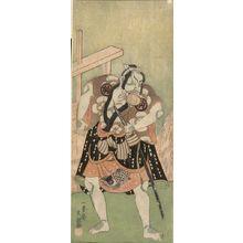 Ippitsusai Buncho: Actor Nakamura Sukegorô as a Samurai - Harvard Art Museum