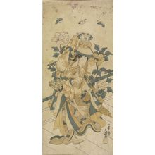 Ippitsusai Buncho: Actor Segawa Kikunojô in the Shakkyô Dance - Harvard Art Museum