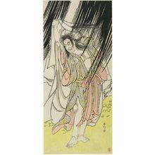 Katsukawa Shunko: Actor Onoe Matsusuke as Kanshojô, Edo period, circa 1791 - Harvard Art Museum