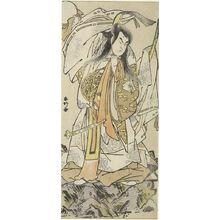 Katsukawa Shunko: Actor Onoe Matsusuke as Tenjin Sugawara Michizane, Edo period, circa 1780s - Harvard Art Museum