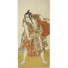 Katsukawa Shunko: Actor Ichikawa Danjûrô 5th as Matsuômaru in the Play Sugawara Denjû Tenarai Kagami, Edo period, circa 1780s - Harvard Art Museum