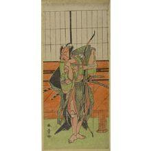 勝川春章: PRINT Ichimura Uzaemon 8th - ハーバード大学