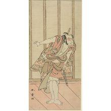 Katsukawa Shunsho: Actor Otani Hiroji 3rd - Harvard Art Museum