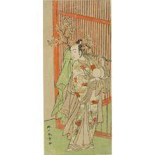 Katsukawa Shunsho: Actor BANDO MITSUGORO 1ST, Edo period, dated 1770 - Harvard Art Museum