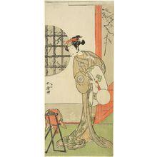 勝川春章: Actor Nakamura Noshio 1st, Edo period, circa 1773 - ハーバード大学